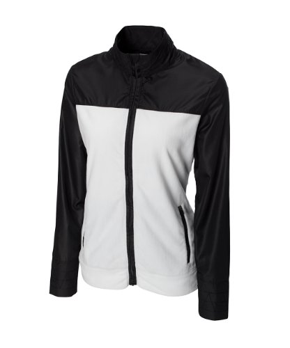 Cutter & Buck Women's L/S Hybrid Full Zip Fleece