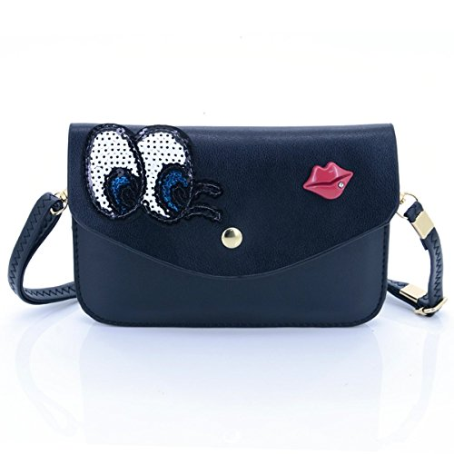 u-times-womens-sequin-embroidery-eyes-red-lip-pattern-pu-leather-flip-snap-shoulder-bag-crossbody-po
