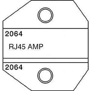 paladin tools 2064 rj45 amp die for crimpall 8000 1300 series crimp die set. Black Bedroom Furniture Sets. Home Design Ideas