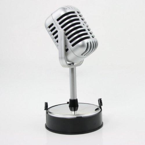 New Mini Microphone Mic Desktop Stand Pc Laptop 3.5Mm