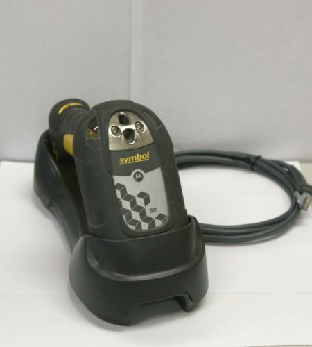 Motorola Symbol Barcode Scanner Ds3578-Sr20005Wr W/Cradle And Usb Cable
