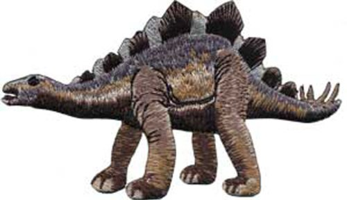Application Brown Stegosaurus Patch