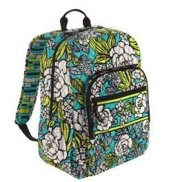 vera bradley campus backpack in island blooms diaper tote bags baby. Black Bedroom Furniture Sets. Home Design Ideas