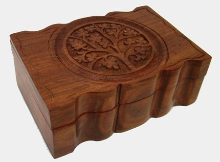 Tree of Life Wooden Box 4x6""