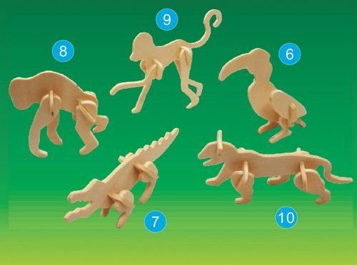 Picture of Puzzled Tiger- Mini 3D Puzzle (B002X375QO) (3D Puzzles)