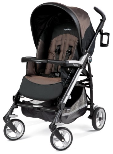 Peg Perego Pliko Four Stroller, Newmoon back-877461