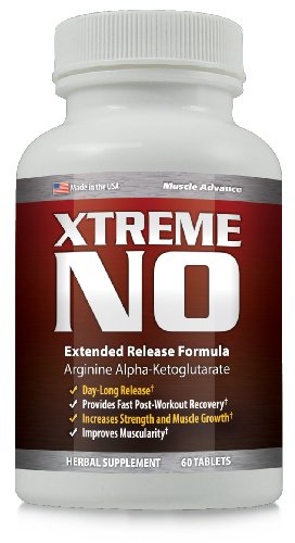 XTremeNO Nitric Oxide Boosting MUSCLE BUILDER 1 Bottle