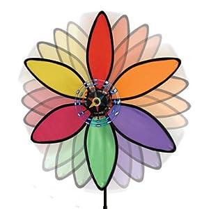 Power Flower, Wind Powered Light Generator