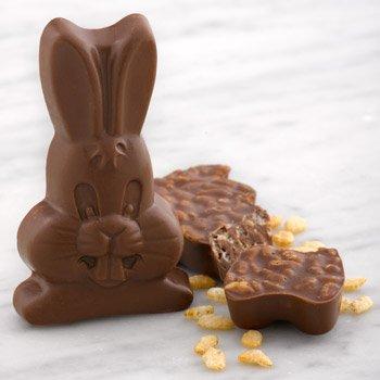 organic easter snacks - Organic Crunch'n Chocolate Bunny