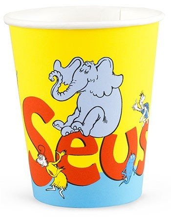 Dr Seuss Classic Book Characters 9Oz Party Cups 8 Pack