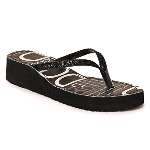 Ladies Synthetic Rubber Wedges New Design Heel Slipper
