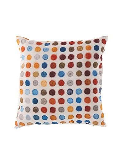 Surya Rain Dots Pillow
