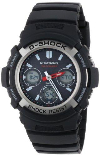 CASIO G-SHOCK ジーショック タフソーラー 電波時計 MULTI BAND6 AWG-M100-1A 逆輸入 [逆輸入品]
