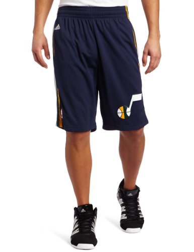 NBA Men's Utah Jazz Swingman Short (Navy, Small) adidas Shorts autotags B00485T7M0