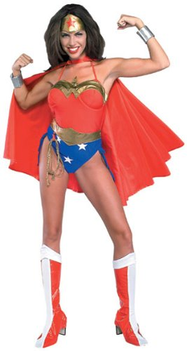 Wonder Woman (original) Deluxe Adult Halloween Costume Size 14-16 Large