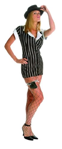Adult Sexy Mobster Costume Size X-Large (12-14)