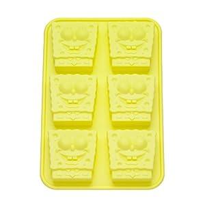 Spongebob 20501 moldes de silicona para el horno con - Moldes silicona amazon ...