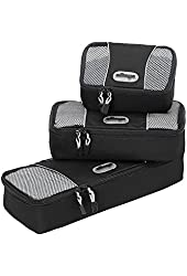 eBags Slim Packing Cubes - Assorted 3PC Set