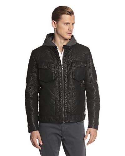 Sean John Men's Turtle Hooded Jacket