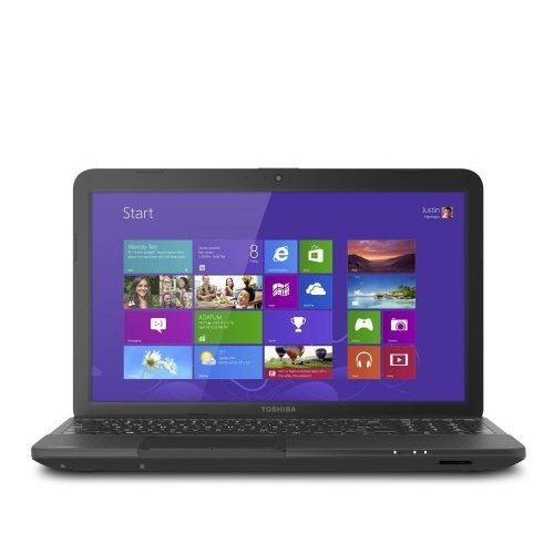 Toshiba Satellite C855D-S5315 Laptop Computer (Satin Black) / 15.6-inch HD Display Screen / AMD Dual-Nucleus E-300 1.3 GHz Processor / 4GB DDR3 RAM Memory / 320GB Earnestly Drive / Double-layer DVD�RW / 6-chamber Battery / Webcam / Windows 8