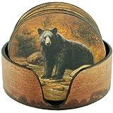 Bear Coaster Set