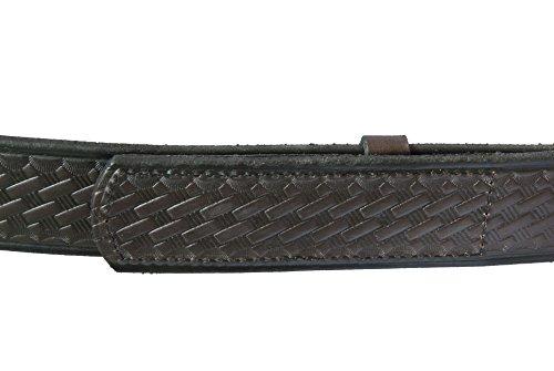 "The Original Musicians Belt, No Scratch, Genuine Leather, 1.5"", Brown Weave, 40"