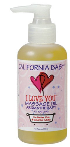 California Baby Massage Oil - I Love You, 4.5 Ounce - 1