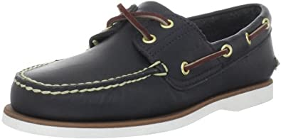 Timberland Men's Classic 2-Eye Boat Shoe Boat shoe,Navy ,6 M US