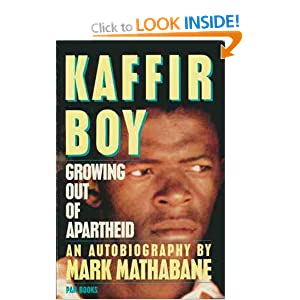 kaffir boy book report Free essay: in mark mathabane's autobiography kaffir boy, he recalls his  he has grown comfortable in his own setting and his house without education.