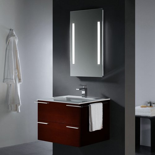 Vigo VG09003106K 31-inch Single Bathroom Vanity with Mirror and Lighting System