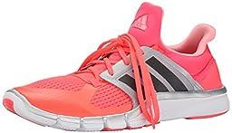 adidas Performance Women\'s Adipure 360.3 W Training Shoe, Flash Red/Dark Solid Grey/Silver, 7.5 M US
