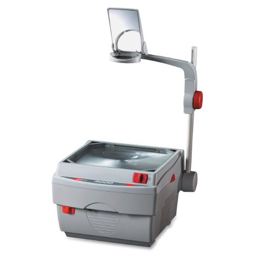 Apollo 3000 Lumen Open Head Overhead Projector with Marker, 15 x 14 x 27 Inches (V3000M)