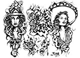 Zuniga Tattoo Flash Set