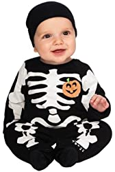 Baby Skeleton Costume Size 0-6 Months