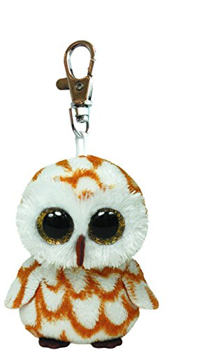 Ty Beanie Boos Swoops - Brown Owl Clip - 1