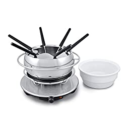 Swissmar FE1003 Zurich 3-in-1 Electric Fondue Set