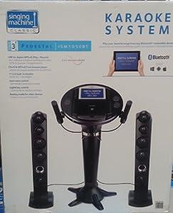Amazon.com: Singing Machine ISM-1050BT Bluetooth Karaoke ...