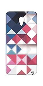 Vogueshell Triangle Pattern Printed Symmetry PRO Series Hard Back Case for Yu Yunicorn