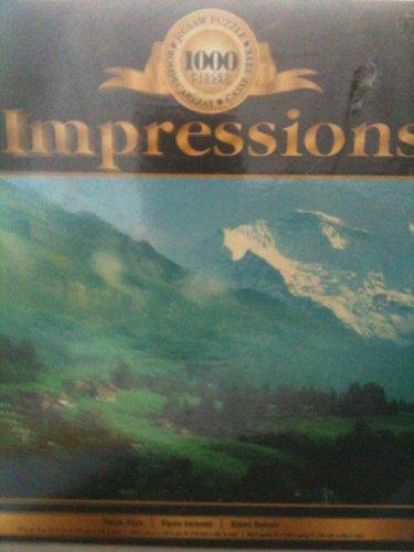 Impressions 1000 Pieces Swiss Alps Puzzle