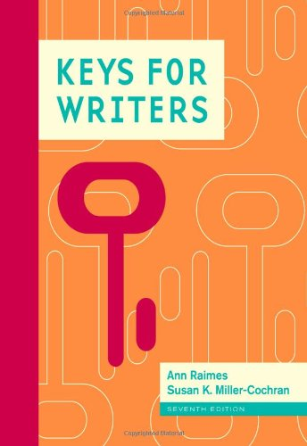 Keys for Writers [Spiral-bound]