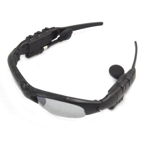 2Gb 2G Fashionable Sunglasses Headset Headphone Earphone Mp3 Player Black