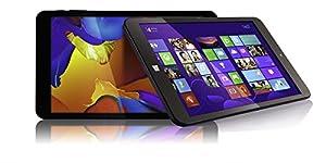"Fusion5 8"" Windows 10 Tablet PC - 2GB RAM and 32GB Storage - Dual 2MP Cameras - Bluetooth - Ultra slim windows tablet PC by Fusion5"