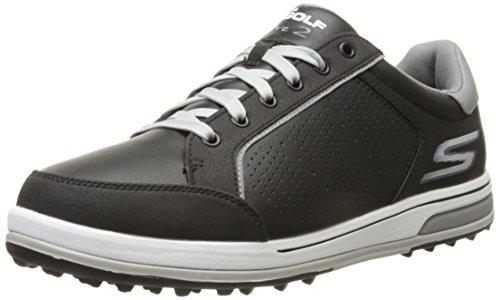 Skechers Performance Men's Go Golf Drive 2 Walking Shoe, Black/White, 11 2E US