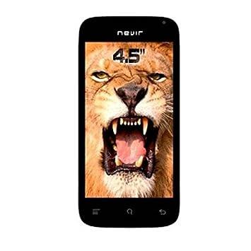 Nevir NVR-S45 S1 Smartphone débloqué (4.5 pouces - 4 Go) Noir (import Espagne)