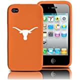 Texas Longhorns iPhone 4 and 4S Case: Silicone Cover