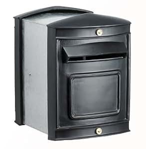 briefkasten zum einbauen sheffield mit von hinten zu verriegelnder t r teleskopisch. Black Bedroom Furniture Sets. Home Design Ideas
