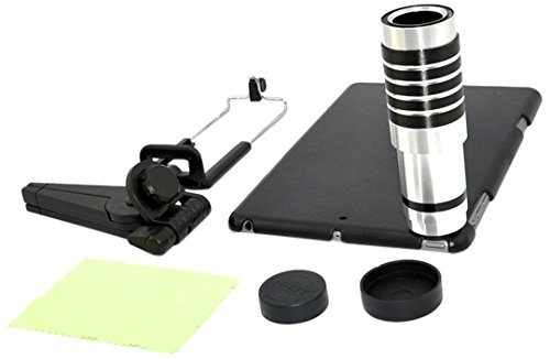 Apexel Aluminum 12x  Optical Zoom Telescope/Telephoto Camera Lens Kit with Tripod for iPad Mini/Mini 2