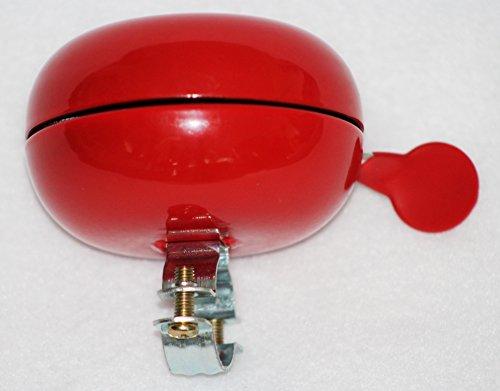 abereda-9785-Original-Holland-Fahrradglocke-Fietsbel-Ding-Dong-Sound-Fahrradklingel-d-80mm-rot