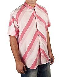 Riverbero Men's Casual Shirt (SN_DHS_208_White_42)