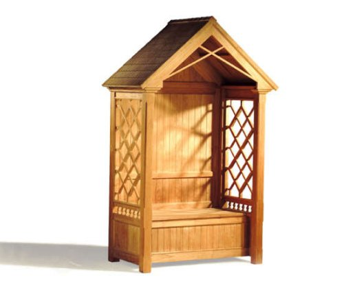 JATI PREMIUM TEAK ROSE GARDEN ARBOUR